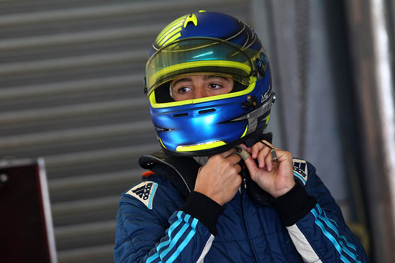 Manuel Sulaiman (MEX) JHR Developments British F4